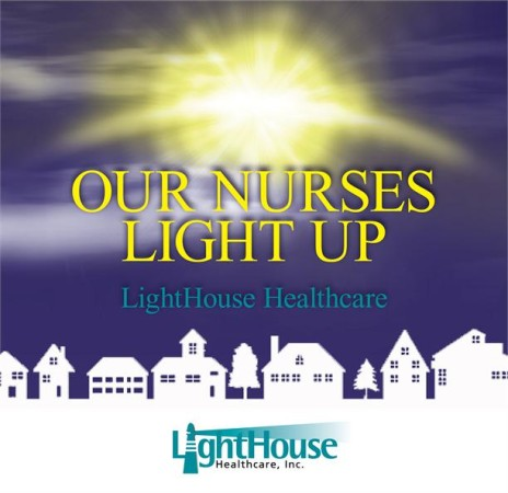 Our nurses light up