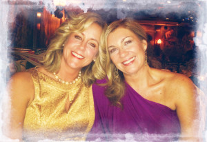 Wendy Sutton and Melissa  Collins celebrate LightHouse's 10th Anniversary