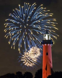 Lighthouse 4th July pic